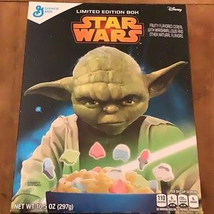 Limited Edition Star Wars Cereal Yoda edition